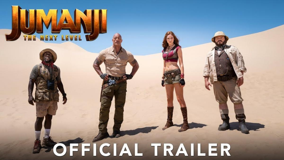 Jumanji Is Back For The Next Level