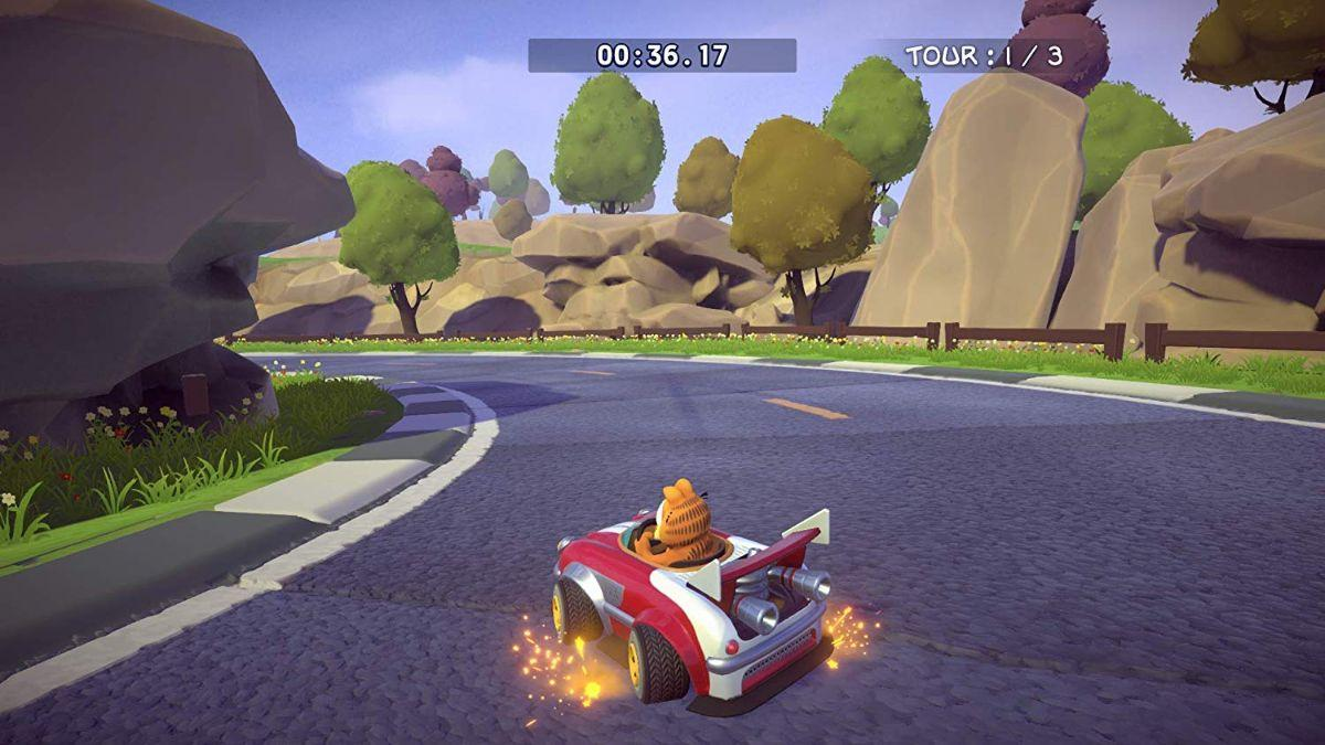 Garfield Kart Furious Racing Announced For Consoles And Pc Popgeeks Com