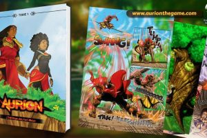 Aurion: Legacy of the Kori-Odan Is Now A Comic Book