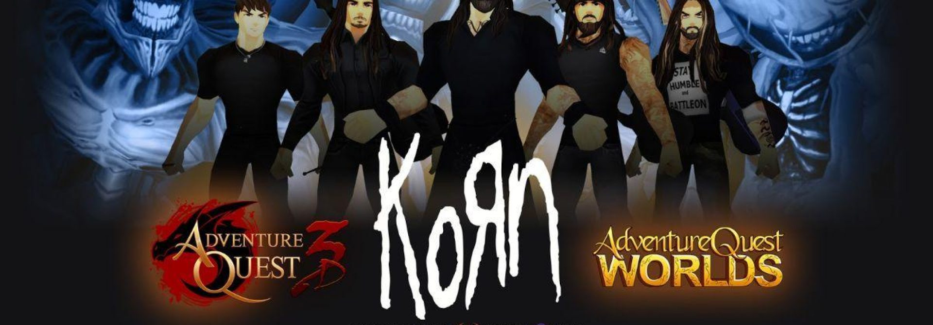 There'll Be A KORN Concert In AdventureQuest Tomorrow