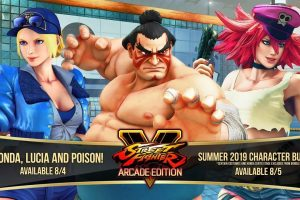 Three New Characters Coming To Street Fighter V Arcade Edition