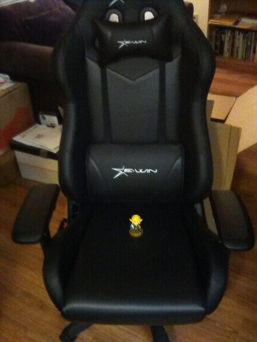 The EWin Calling Series Ergonomic Computer Gaming Office Chair plus Link Amiibo