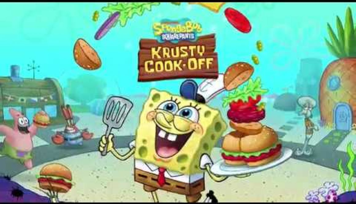 Nickelodeon Announces Spongebob: Krusty Cook-Off Game