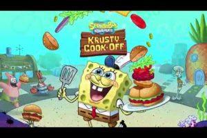 Nickelodeon Announces Spongebob: Krusty Cook-Off Game
