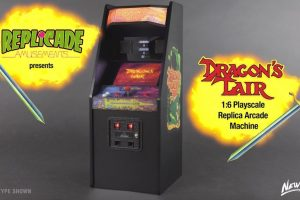 Dragon's Lair Now Shrunk To RepliCade Size
