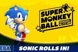 Sonic Is Playable In Super Monkey Ball Banana Blitz HD