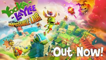Yooka-Laylee And The Impossible Lair Is Out Now