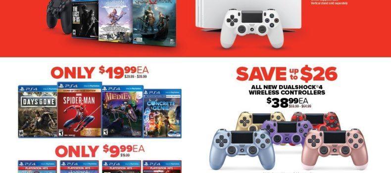 Black Friday 2019: Gamestop's Offerings