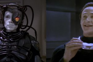 There Are Four Hosts Podcast Episode 1 – Star Trek Picard (I, Borg and Descent parts 1 & 2)