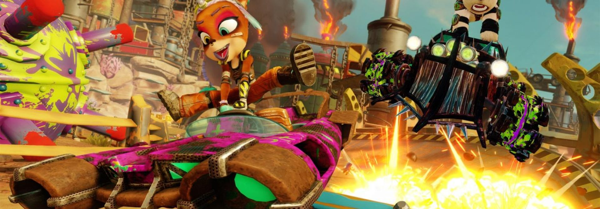 Rustland Grand Prix Kicks Off In Crash Team Racing Nitro-Fueled