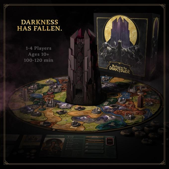 Return to Dark Tower on Kickstarter