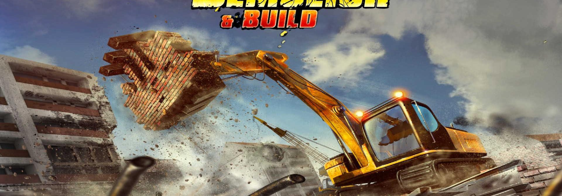Demolish & Build – a new construction simulator on Nintendo Switch