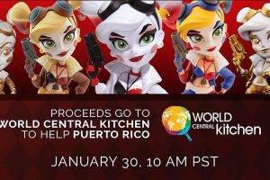 Harley Quinn Charity Auction Starts Tomorrow