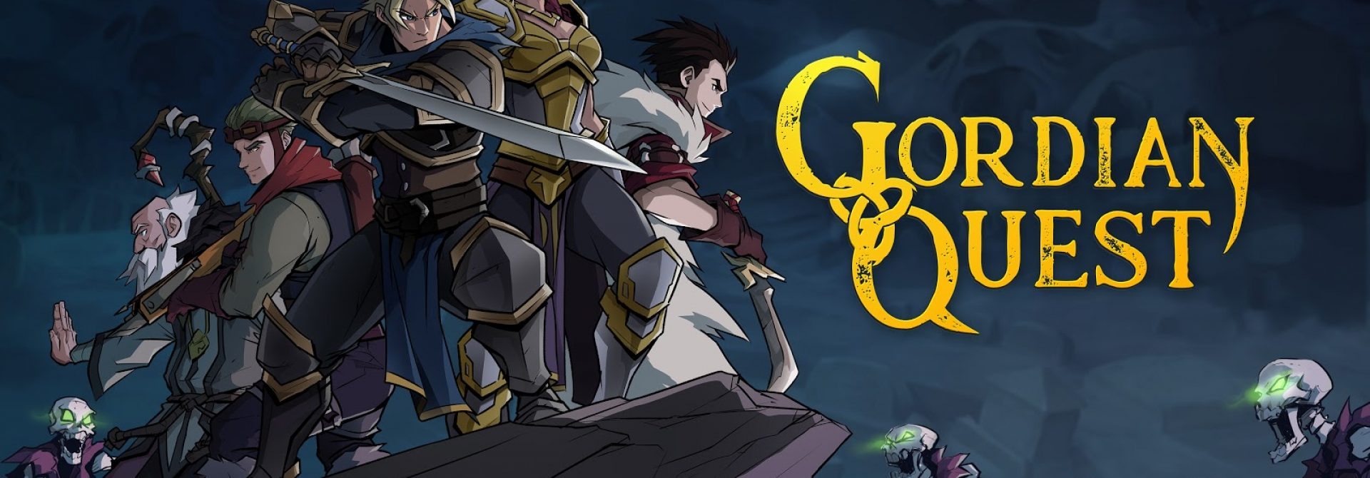 Strategic Roguelike Deckbuilder Gordian Quest Announced