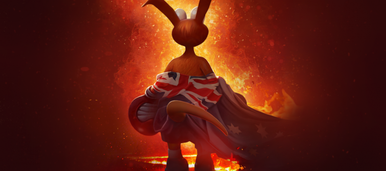 Kao the Kangaroo helps to save his motherland Australia from the horrific effects of the bushfires.