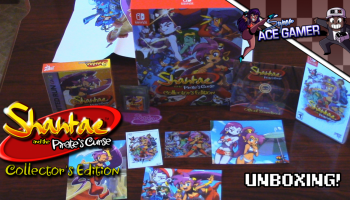 Shantae and the Pirate's Curse Collector's Edition unboxing thumbnail
