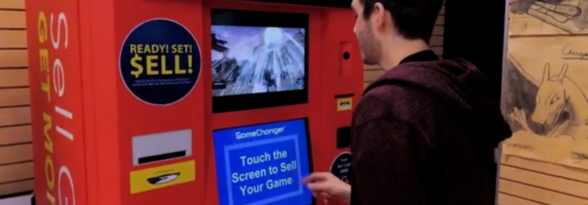 GameChanger Kiosks Seek To Replace The Neighborhood Gamestop