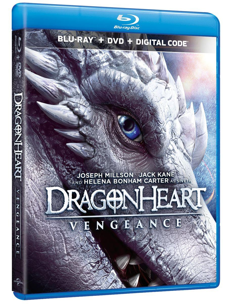 DRAGONHEART: VENGEANCE Available on Blu-ray, DVD, and Digital 2/4