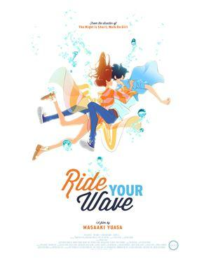"""Masaaki Yuasa's new film """"Ride Your Wave"""" coming to 500+ movie theaters on 2/19"""