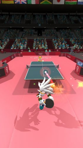 Sonic at the Olympic Games - Silver the Hedgehog