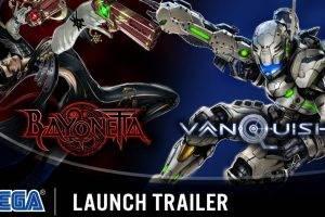 Bayonetta & Vanquish 10th Anniversary Bundle Launch