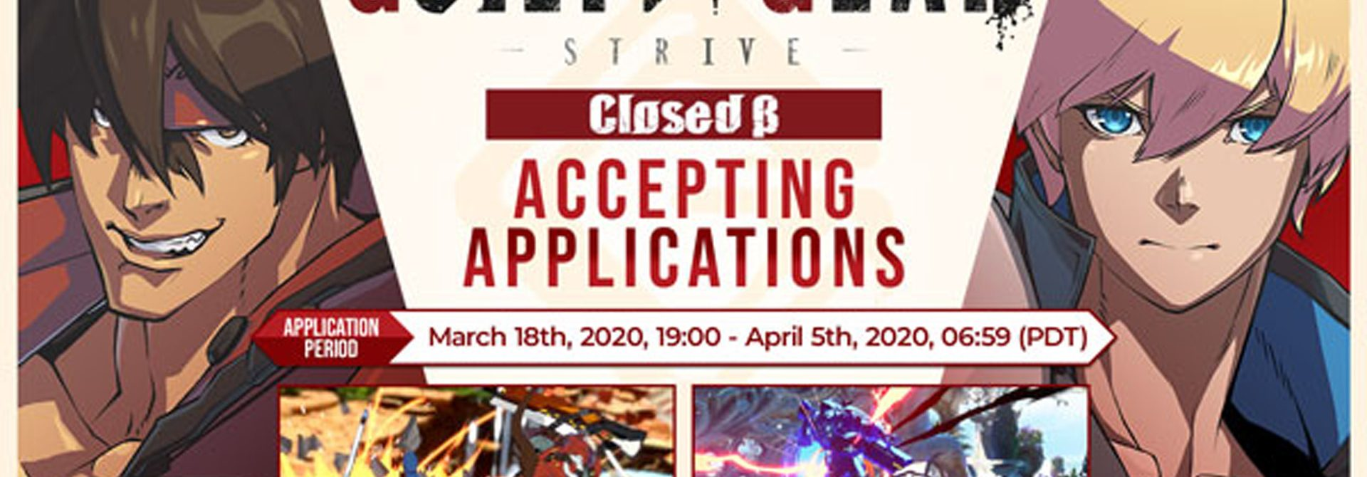 Guilty Gear Strive Holding Closed Beta Test April 16