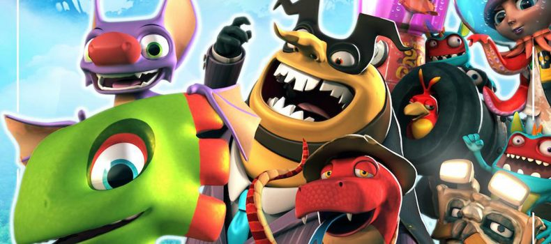 Yooka-Laylee Soundtracks Now Available