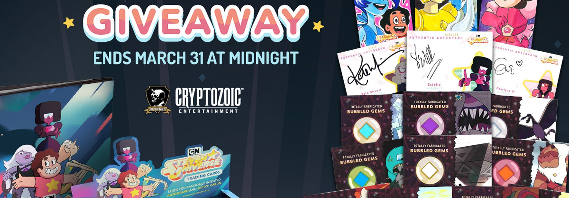 Cryptozoic's Steven Universe Giveaway