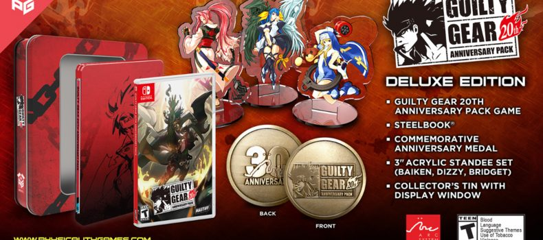 Guilty Gear 20th Anniversary Pack Opens Preorders March 23