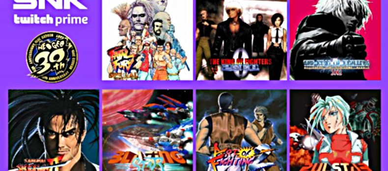 Twitch Prime Is Giving Out Free SNK Games All Summer