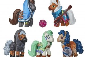 Dungeons & Dragons Meets My Little Pony In Figure Mashup