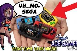 Sega Game Gear Micro (WTF SEGA??) – Super Ace Gamer Brand