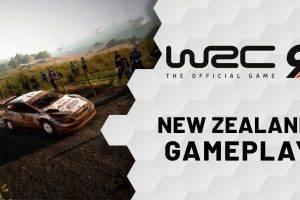 WRC 9 – New Zealand Rally Gameplay Trailer