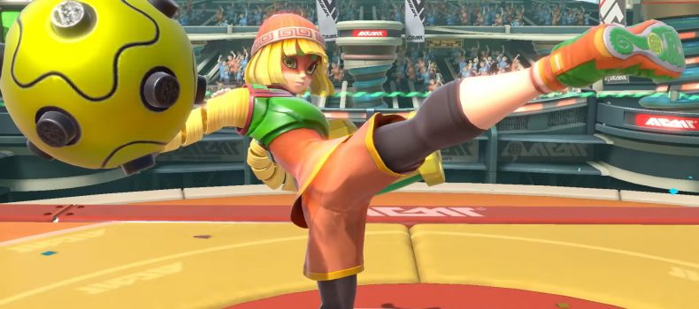 Meet Min Min, The Newest Smash Bros Fighter