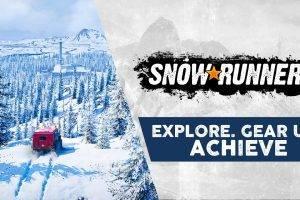 New 'SnowRunner' Progression & Exploration Video (PS4, XB1, PC)