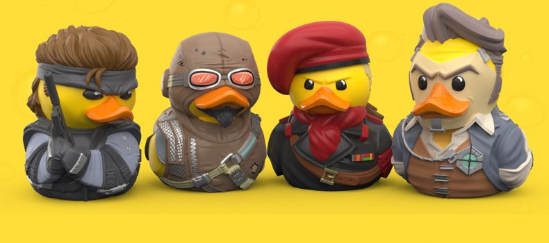 Solid Snake Is Now A Duck