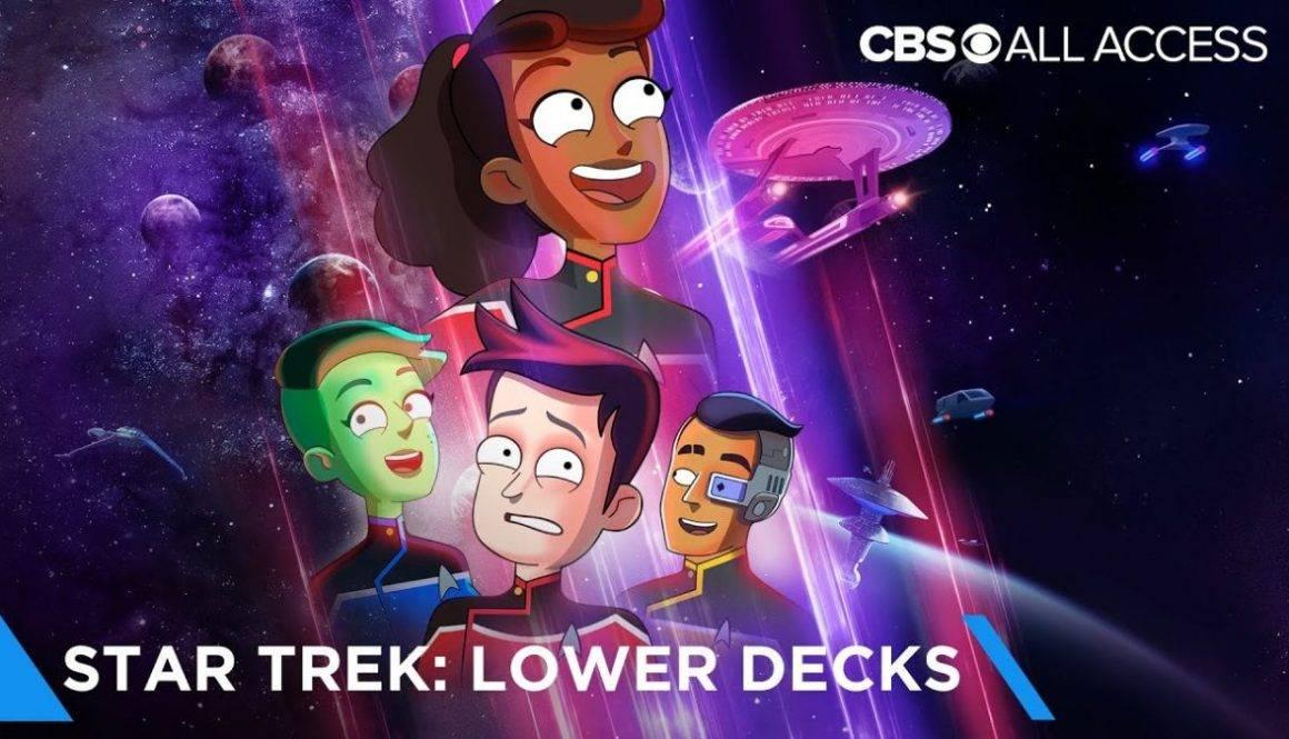 Our First Good Glimpse At Star Trek: Lower Decks