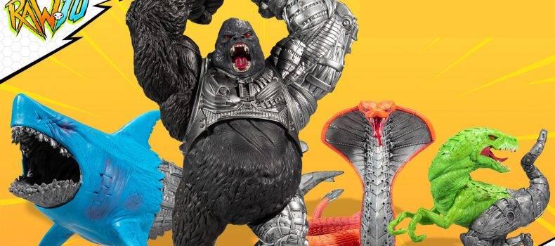 McFarlane Toys Unveils RAW10 Creature Line