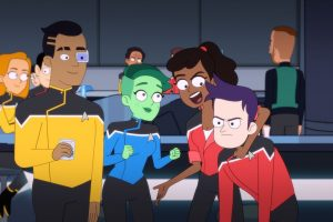 There Are Four Hosts Podcast Episode 20 – Star Trek Lower Decks (Second Contact)