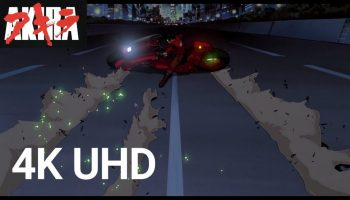Akira Ultra HD 4k remaster and Bluray available now at Amazon, Funimation and Crunchroll