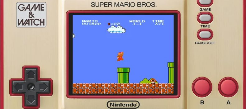 Super Mario Bros Game And Watch Announced For November