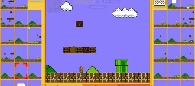 Mario Enters The Battle Royale Genre With Super Mario Bros 35