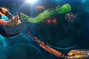 Strategy Adventure Drone Swarm Invades Steam