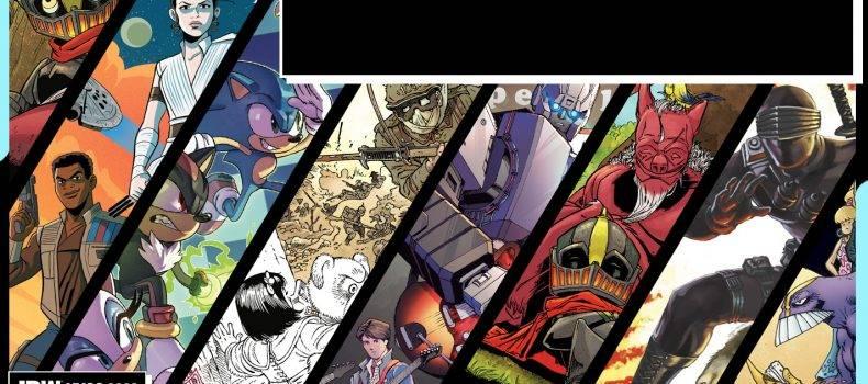 IDW's New York Comic Con Panel Lineup