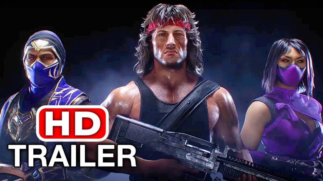 Mileena and Rain are back in Mortal Kombat and they brought Rambo with them