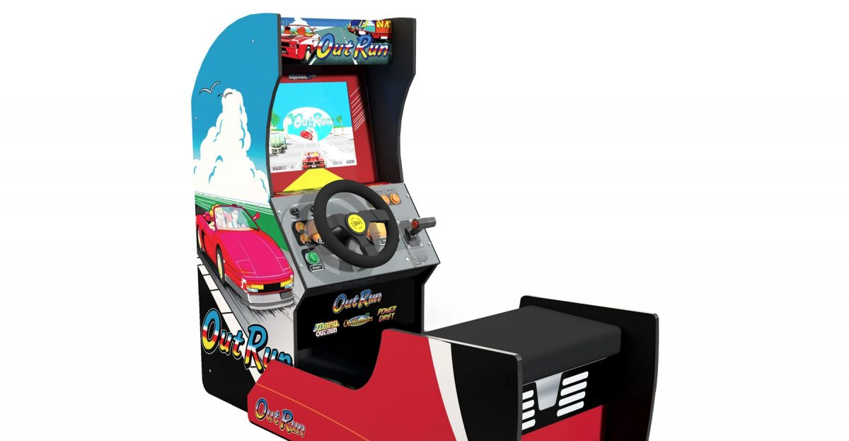 Arcade 1Up Adds Fifth Game To OutRun Seated Cabinet