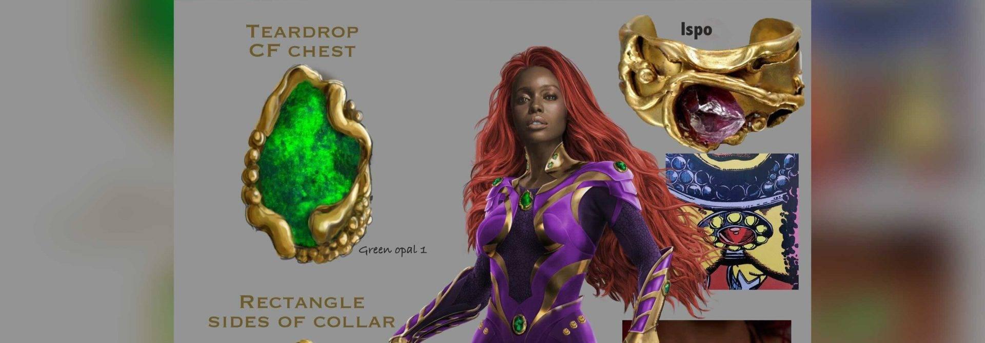 Season 3 of Titans gave Starfire a makeover