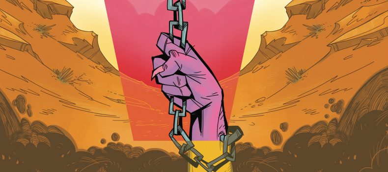 Special Five-Page Preview Of IDW's Chained To The Grave