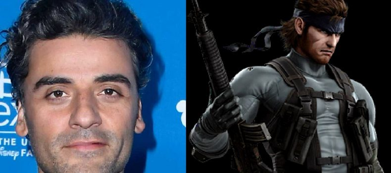 Oscar Isaac will be playing Solid Snake in live action film