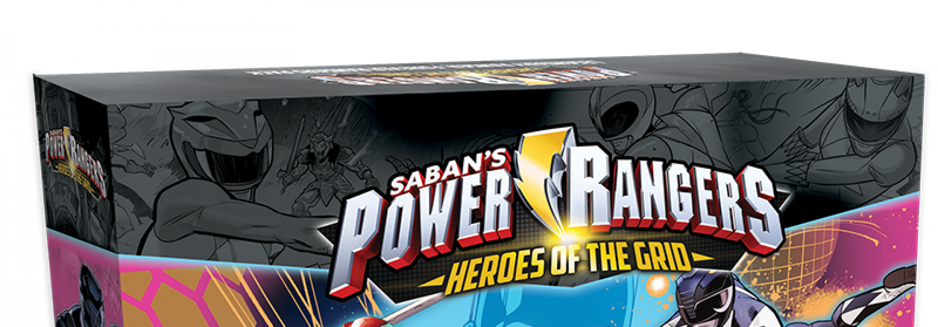 Three Expansions For Power Rangers: Heroes Of The Grid Coming In April